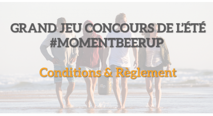 Grand jeu concours BeerUp 2020